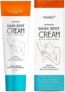 AsaVea Dark Spot Cream Natural Underarm Cream, Instant Result, Crotch & Nipple Dark Spot Corrector