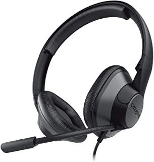 Creative HS-720 V2 USB Digital Audio On-Ear Headset with Noise-Cancelling Condenser Boom Mic, Inline Mic Mute/Calls/Volume...