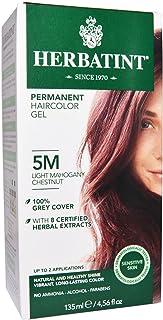 OKSLO Permanent Haircolor Gel 5M Light Mahogany Chestnut 4 56 fl oz 135 ml (16055-27173-3226)