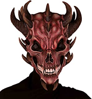 Forum Novelties Men's Devil Skull Latex Mask