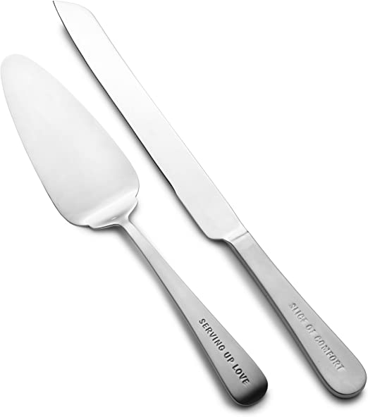 Towle Living Express 2 Piece Dessert Cake Server Set Cake Pie Pastry Servers
