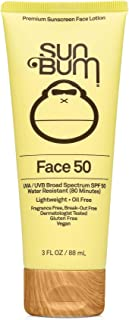 Sun Bum Original SPF 50 Sunscreen Face Lotion | Vegan and Reef Friendly (Octinoxate & Oxybenzone Free) Broad Spectrum Frag...
