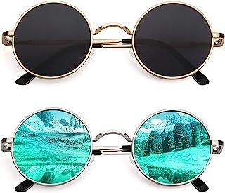 CGID E01 John Lennon Round Polarized Unisex Sunglasses