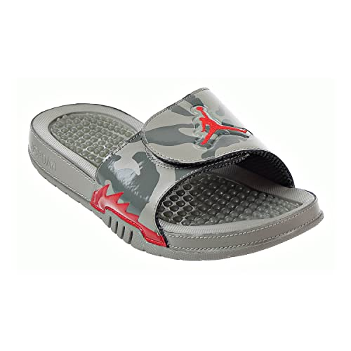 370edaefb2883a Jordan Hydro 5 Retro Men s Slides Dark Stucco University Red 555501-051