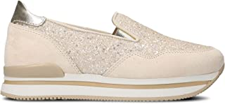Luxury Fashion Womens HXW2220T671IGT0A1B Pink Slip On Sneakers | Season Permanent