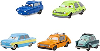 Disney Cars 2 Spies Pull 'n' Race Die Cast Set