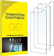 """JETech Film de Protection d'écran Compatible avec iPhone 11 et iPhone XR 6,1"""" en Verre Trempé, Lot de 3"""