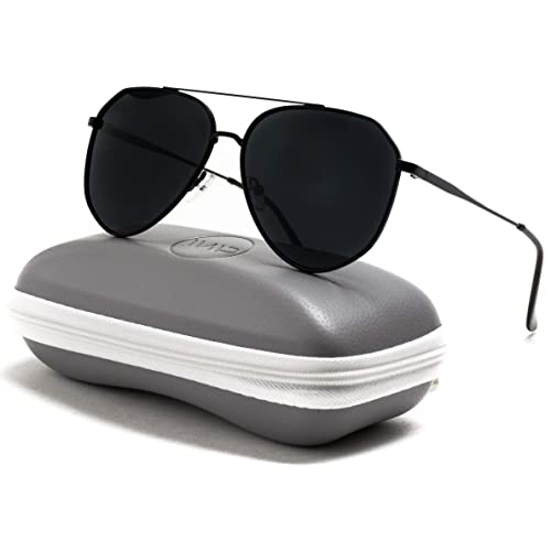 24b3706b8b WearMe Pro - Polarized Premium Designer Inspired Medium Metal Frame Aviator  Sunglasses - Modern Design