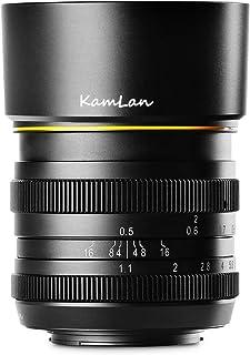 【国内正規品】 KAMLAN 単焦点レンズ 50mm F1.1 キヤノン Mマウント用 APS-C 国内保証付き KAM0012