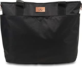 JuJuBe Encore Diaper Tote Bag (Limited Edition), Black Rose