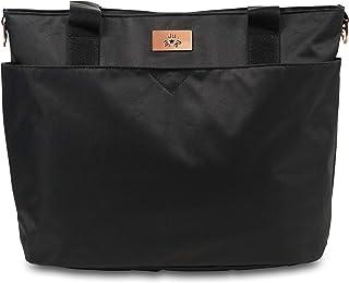 JuJuBe Encore Diaper Tote Bag (Limited Edition), Black Rose