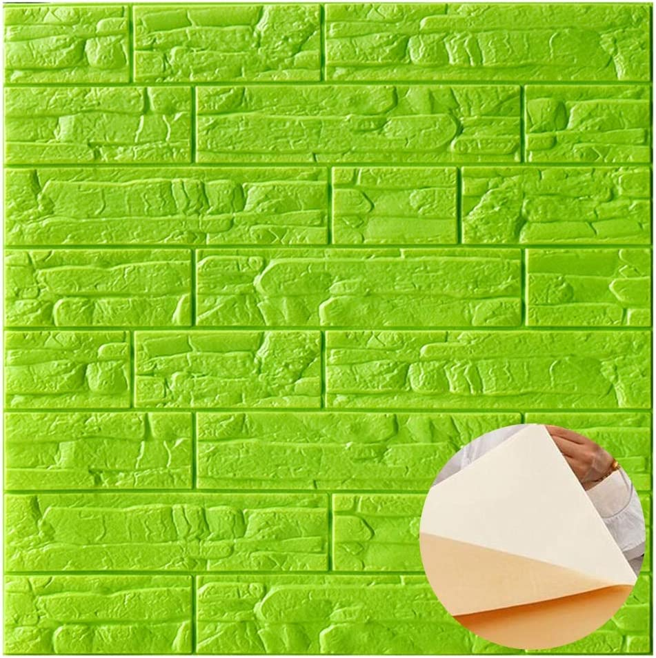 Max 43% OFF ZHANWEI 3D Wall Panels Self-Adhesive Sales results No. 1 Wate Thicken Wallpaper Foam