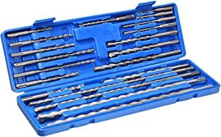 Yescom 20pcs SDS Plus Rotary Hammer Drill Bits Carbide Tip Concrete Masonry Hole Tool Set