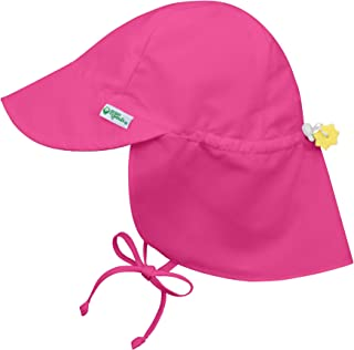 i play. Baby Girls' Flap Sun Protection Hat, Light Pink