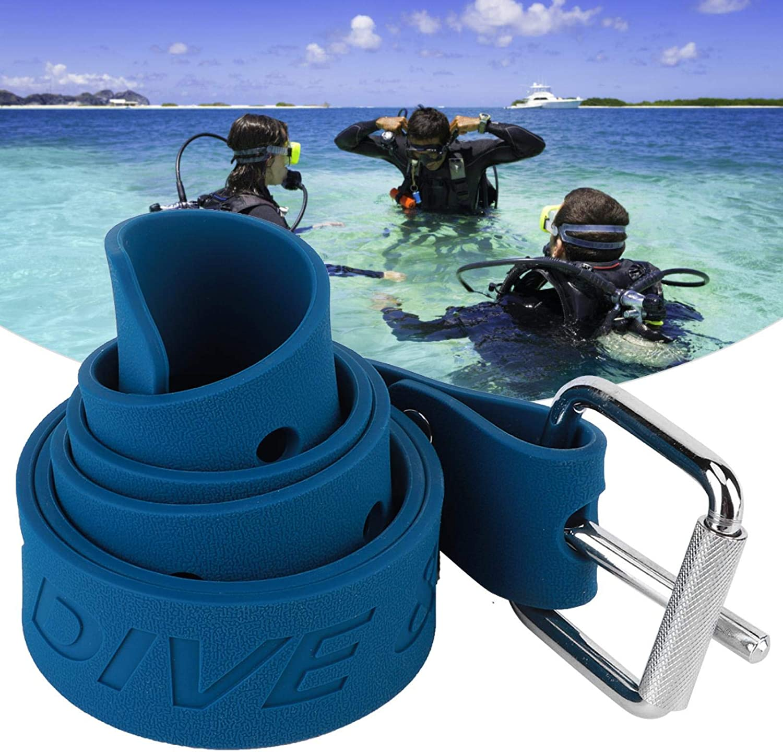 100% quality warranty Fybida 61 Inches Diving Weight San Francisco Mall Rubber Waist Webbing Belt