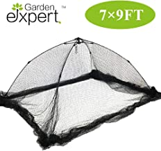 Garden EXPERT Pond Netting Garden Cover Protective Net Tent Dome Netting 7x9 Feet Suitable for Yard, Landscape, Pond, Garden