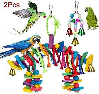 pappagalli per Doccia Giocattolo per Uccelli con Ventosa Bar posatoio Whiie891203