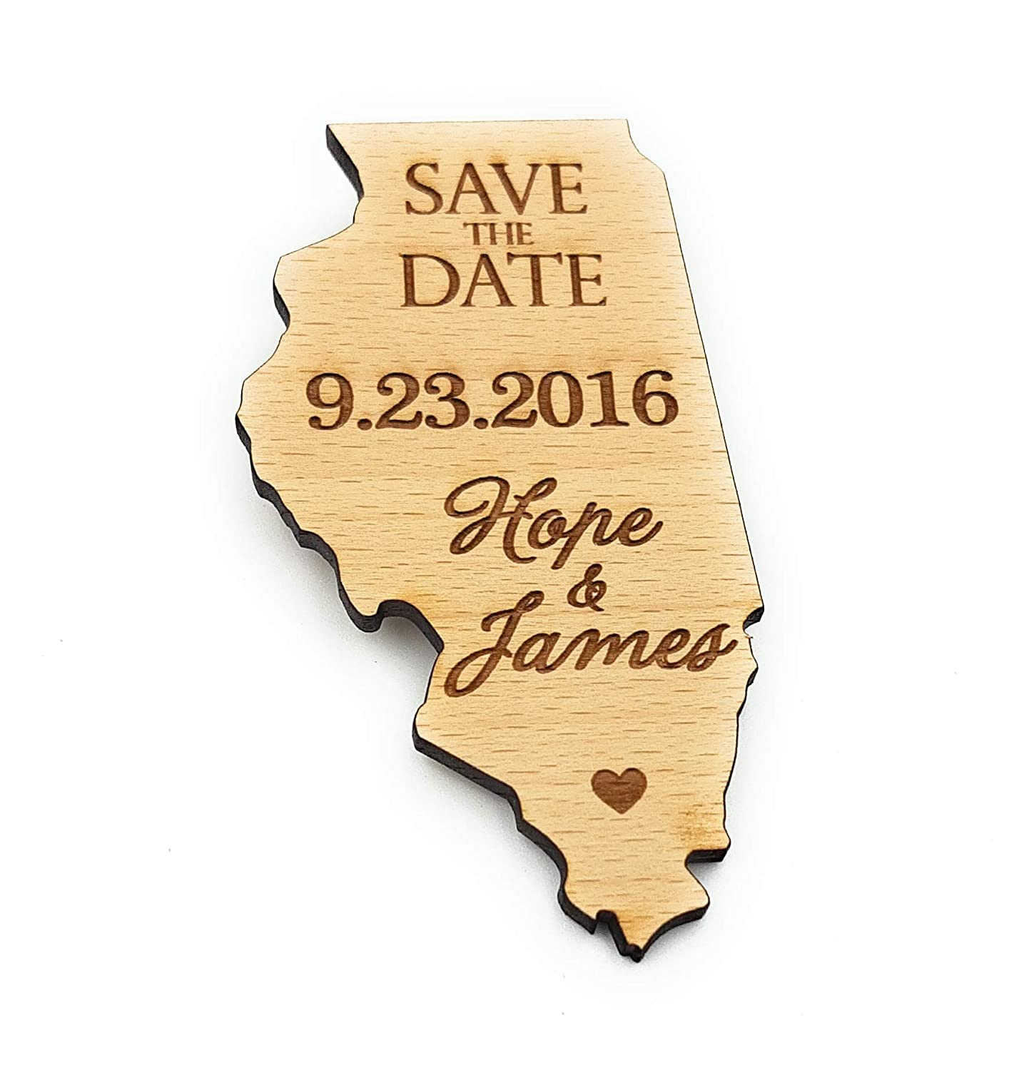 Wooden save the Virginia Beach Mall date magnets shaped dates New products world's highest quality popular US state ru