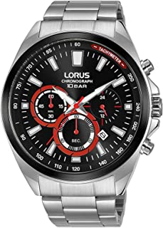 Lorus Sport Man Mens Analog Quartz Watch with Stainless Steel Bracelet RT379HX9