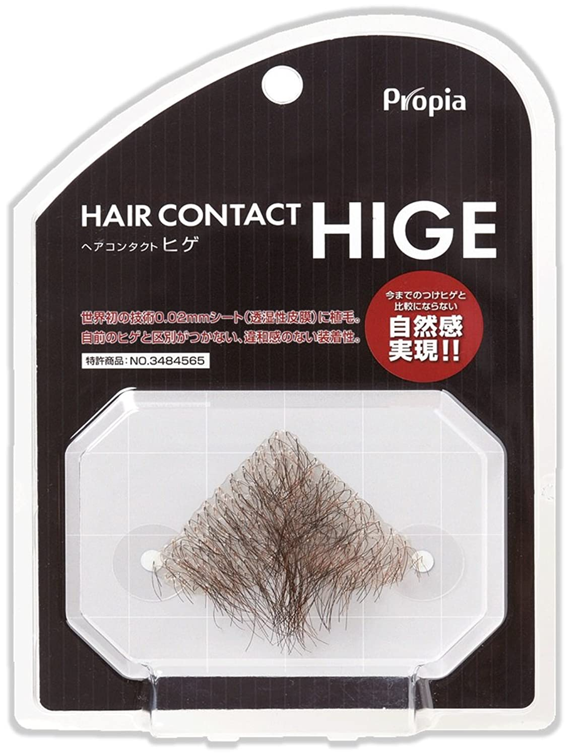 HAIR CONTACT HIGE アゴヒゲ フジ