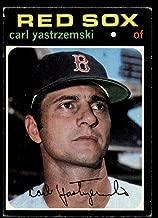 Baseball MLB 1971 Topps #530 Carl Yastrzemski EX Red Sox