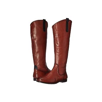 Sebago Plaza Tall Boot (Cognac Leather) Women