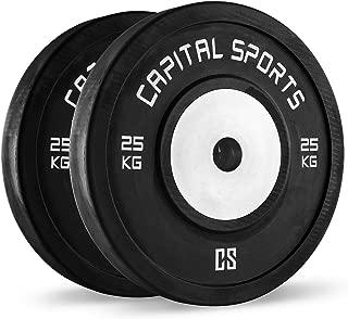 CapitalSports Capital Sports Inval Discos de Pesas Hi Grade