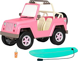 Our Generation by Battat- Og Off Roader 4x4 Electronic Jeep for 18