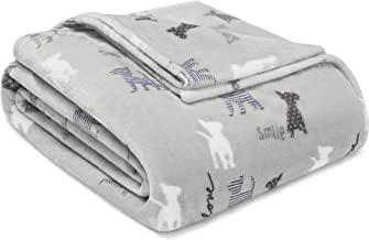 Ed-Ellen Degeneres Augie and Friends Blanket, Full/Queen, Grey