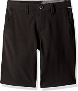 "Volcom boys Frickin Snt Static 18"" Hybrid 4 Way Stretch Short Casual Shorts"