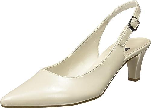 Gabor schuhe Gabor Fashion, schuhe de Tacón para damen, Weiß (Off-Weiß(+Absatz) 80), 38 EU
