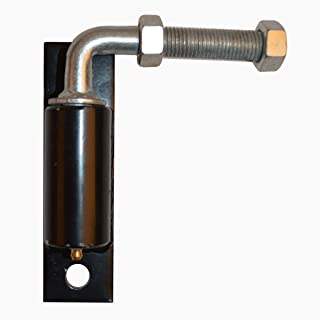 ALEKO 3/4 Inches Heavy Duty Hinge J-Bolt for Driveway Gates Iron Gate with 2 Bolts, Nuts and Washers