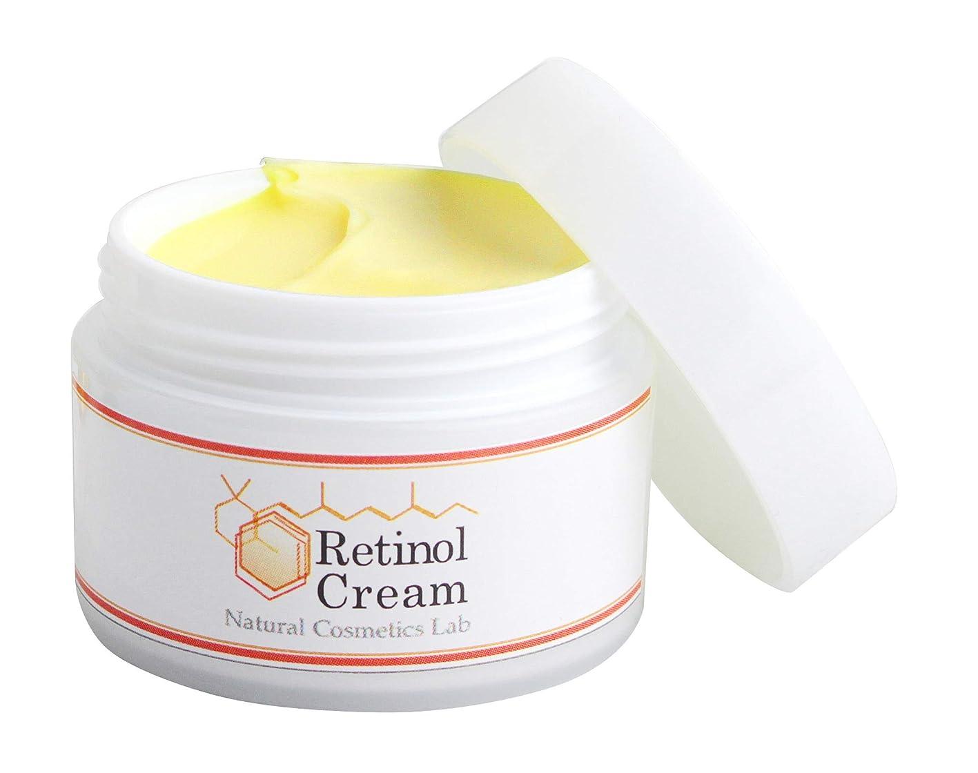 請願者受け継ぐ没頭する自然化粧品研究所 レチノールクリーム 35g