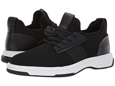 Calvin Klein Phyll (Black Nylon/Nappa Smooth Calf) Men