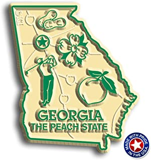 Georgia State Map Magnet