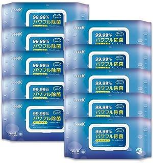 ウェットティシュ アルコール除菌 50枚入×10バック 除菌シート アルコール濃度68% アルコール除菌ウェットティッシュ 除菌 アルコール ウェットティッシュ 携帯用 除菌シート消毒 アルコールタイプ ウェットティシュ (50枚入×10バック)