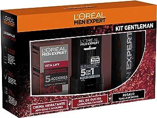 L'Oréal Men Expert Cofre Vitalift Crema antiedad para hombre y Gel de Ducha