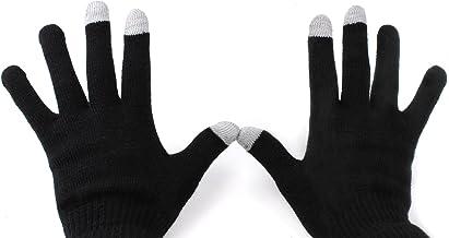 DURAGADGET Medium Black Touch Screen Gloves - Compatible with Kurio 10S /Archos 101 XS 2 /Polaroid MID4Q10 | MIDQM97 | MID...