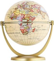EXERZ Mini Globe Antique en Anglais (Diamètre 10CM