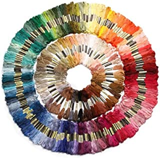 Full Set of 447 x CXC Embroidery Thread Skeins (8m) Various Colours Matches DMC Numbers