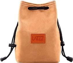 Camera Case, LATZZ Drawstring Bag, Vintage DSLR Camera Bag Soft Lens Case Gadget for Traveling and Canon Nikon Sony SLR Storage