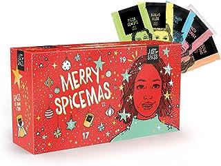 Just Spices Kleiner Gewürz Adventskalender 2021 I Weihnachtskalender mit 24 Gewürzmischungen  Rezepten I Hochwertige Gewürze als Geschenk für Männer und Frauen 2021 2021