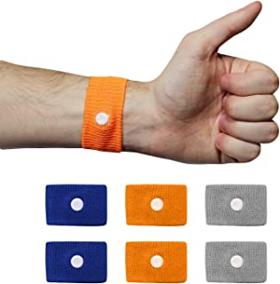 Chesterman's 3 Pairs Motion Sickness Wristband, Morning Sickness Relief, Vertigo Bands, Altitude Sickness Bracelet, Pregnancy Nausea Relief, Anti Nausea Chemotherapy Bracelet, Cruise Essential