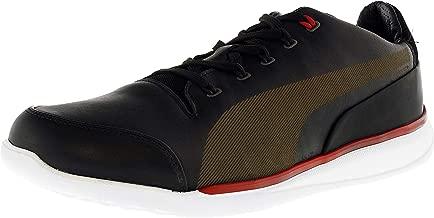 PUMA Men's Ferrari Titolo Everfit+ Ankle-High Leather Fashion Sneaker