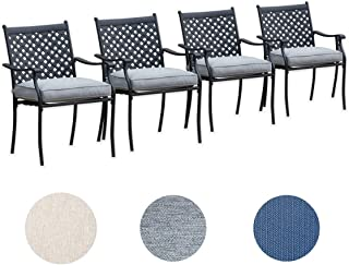 Best wrought iron 4 piece patio set Reviews