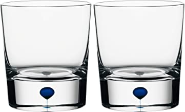 Orrefors Intermezzo Blue 8.33 Ounce Old Fashioned/Whiskey, Set of 2 - 6719821