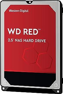 WD Red 1TB 2.5 Pulgadas NAS Disco Duro Interno, 5400 RPM,WD10JFCX, Rojo