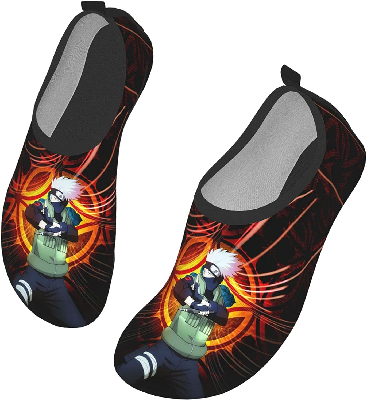 CEIMIN Cute Anime Cartoon Barefoot Water Shoes Outdoor Sports Aqua Socks Swim Beach Yoga Shoes for Womens Mens