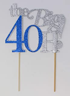 All About Details The Big 4OH! Cake Topper, 1pc, 40th birthday, 40th anniversary Multi CATTB4O