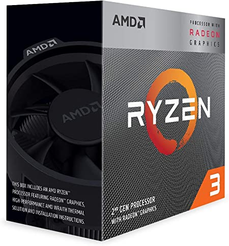 AMD Ryzen 3 3200G 4Core Unlocked Desktop Processor with Radeon Graphics at Kapruka Online for specialGifts